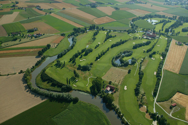 Golfclub Sagmühle von oben