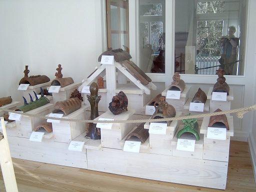 Exponate des Ziegelmuseums