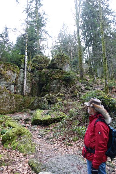 Beeindruckende Felsformationen sind zudem Bestandteil der GeoTour.