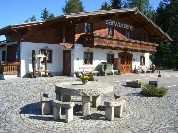 Blick auf die Bärwurzerei Drexler in Bad Kötzting im Naturpark Oberer Bayerischer Wald