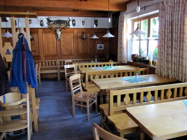 Gemütliche Gaststube in der Brauereigaststätte Lindner-Bräu in Bad Kötzting