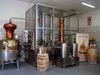 Blick in die Erste Bayerwald-Whisky-Destillerie in Bad Kötzting im Naturpark Oberer Bayerischer Wald