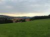 Abendlicher Ausblick vom Ludwigsberg bei Bad Kötzting