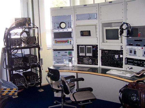 Elektronische Fernmelde-Geräten im Museum FM-Elo Aufklärung am Hohenbogen