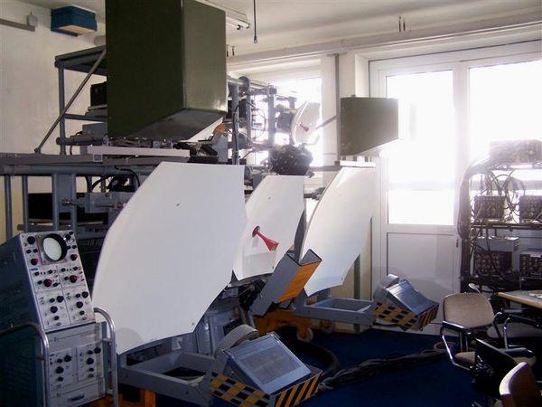 Geräte zur elektronischen Aufklärung im Museum FM-Elo am Hohenbogen