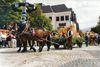 Pferdefuhrwerk beim Rosstag in Bad Kötzting