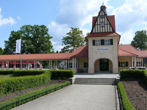 Gästeinformation Bad Saarow im Bahnhof, Foto: TV-SOS