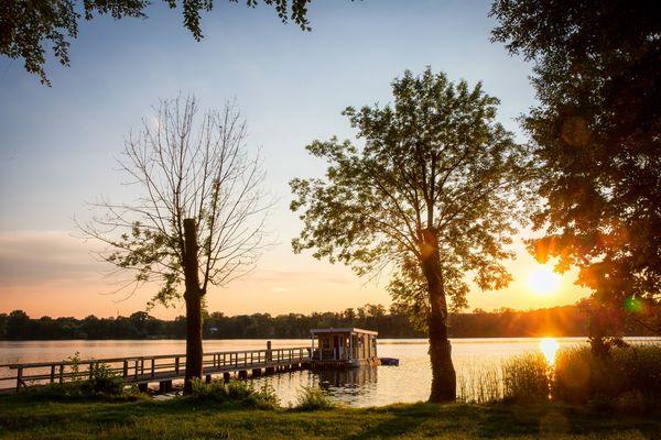 Bad Saarow Cecilienpark, Foto: Florian Läufer, Lizenz: Seenland Oder-Spree