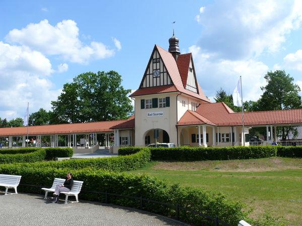 Historischer Bahnhof Bad Saarow, Foto: Rußig