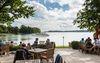 Terrasse Park-Café in Bad Saarow, Foto: TMB-Fotoarchiv/Yorck Maecke