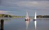 Segelboote auf dem Scharmützelsee, Foto: Tourismusverband Seenland Oder-Spree e.V./Rußig