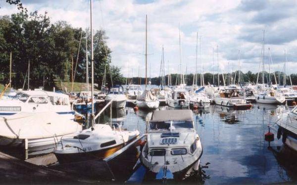 Saarow Marina der Scharmützelsee Schifffahrt