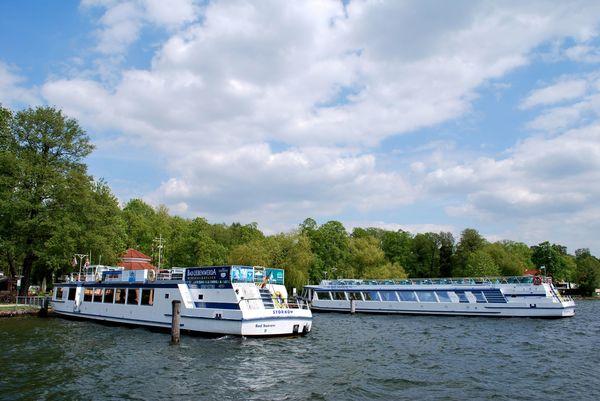 Schifffahrt auf dem Scharmützelsee, Hafen Bad Saarow, Foto: Danny Morgenstern