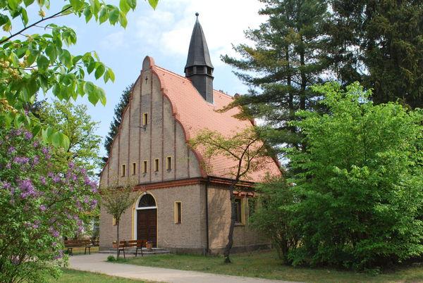 Kirche Bad Saarow, Trauort von Max Schmeling und Anny Ondra, Foto: Tourismusverein Scharmützelsee e.V.