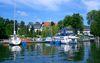 Hafen Bad Saarow/Scharmützelsee, Foto: TMB/Geertje Wieck