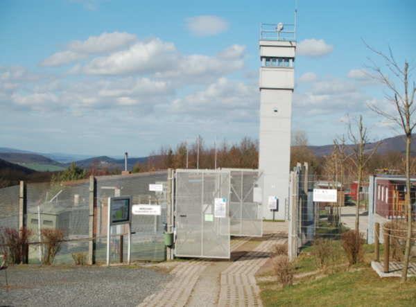 ehemalige Grenzanlagen im Grenzmuseum Schifflersgrund