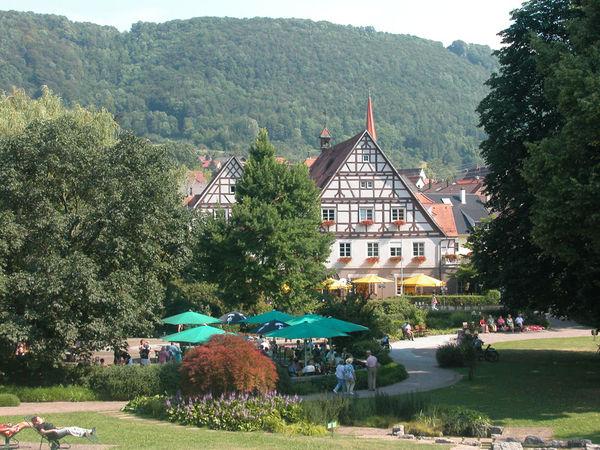 Kurpark in Bad Überkingen