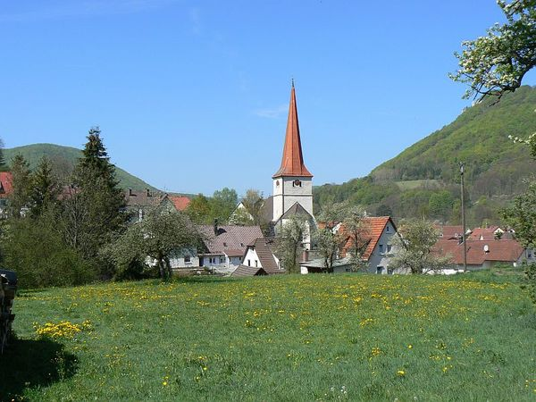 St. Gallus Kirche in Bad Überkingen