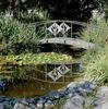Brücke im Kurpark in Bad Überkingen