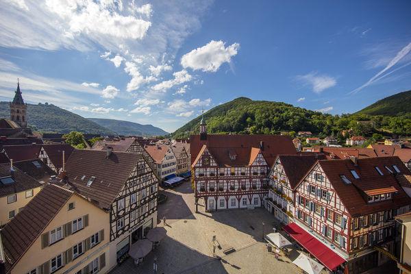 Marktplatz in Bad Urach