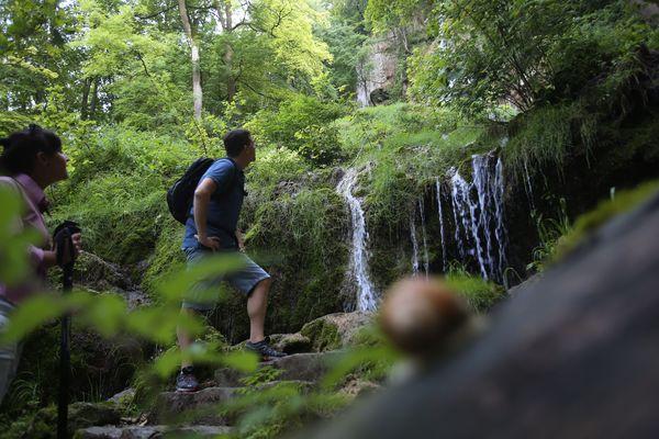 Wasserfallsteig - einer von fünf Grafensteigen
