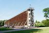 Das Gradierwerk I ist mit 120 Metern das längste Kurpark-Gradierwerk Nordrhein-Westfalens.