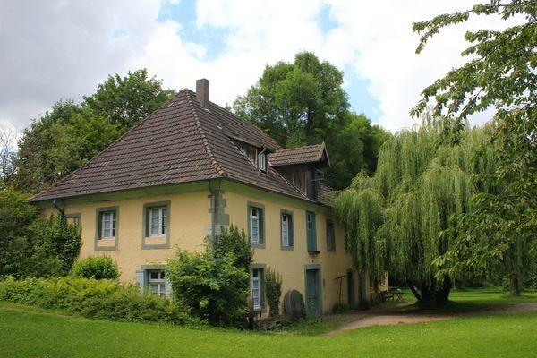 Die Schäferkämper Wassermühle: Mühle und Wohnung unter einem Dach vereint. Das ist einmalig in Westfalen.