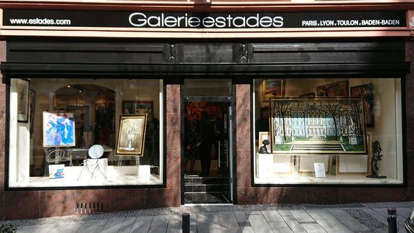 Frontansicht der Galerie Estades, Sophienstraße 11 - 76530 Baden-Baden