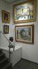 Innenansicht mit Tigerkopf, Galerie Estades - Sophienstraße 11 - 76530 Baden-Baden