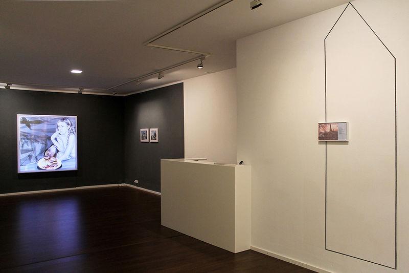 Ausstellungsansicht Monika Thiele 2016 GALERIE SUPPER