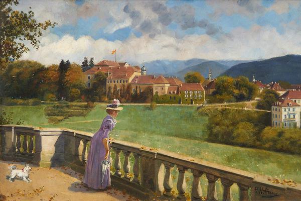 Blick auf das Neue Schloss