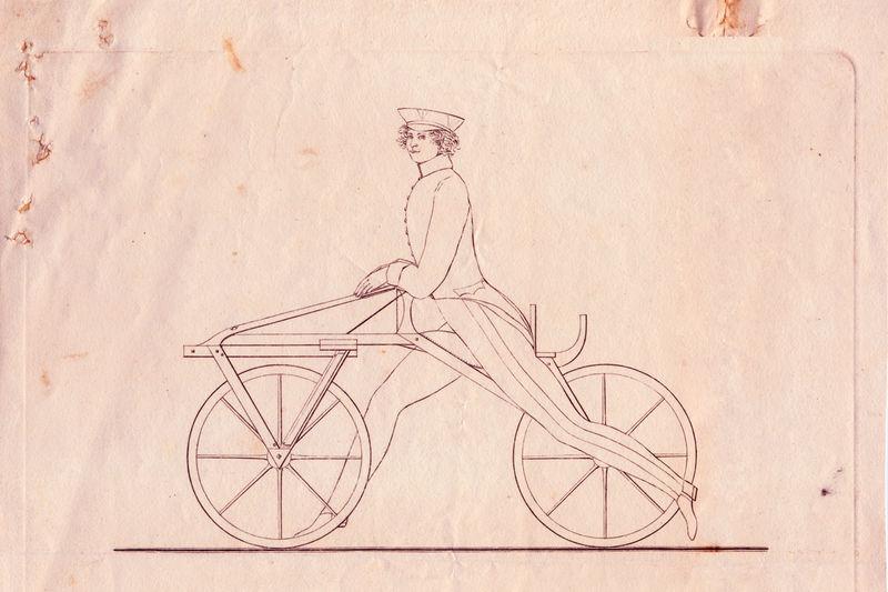 Das Fahrrad - Karl Drais