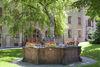 Brunnen vor dem Kloster Lichtenthal