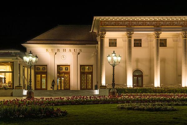 Kurhaus Baden-Baden am Abend