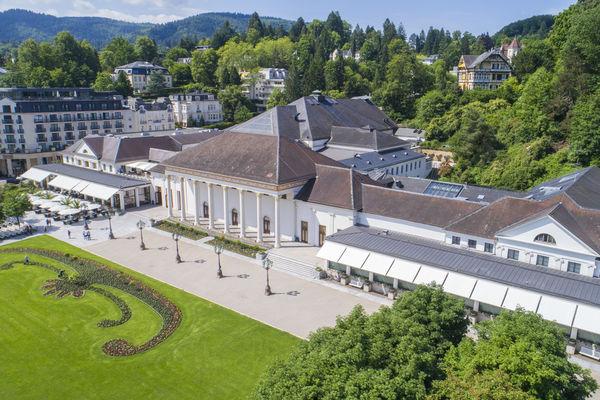 Kurhaus Baden-Baden von oben