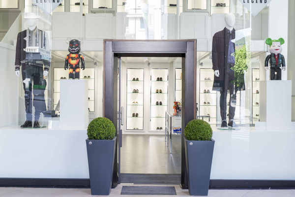 Eingang United Legend Store Baden-Baden