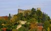 Burg Baden im Herbst