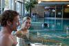 Nacktschwimmbecken der Saunalandschaft