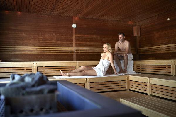 Aufguss-Sauna Cassiopeia Therme