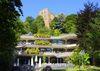 Burg Baden mit Kurhaus Badenweiler und den herrlichen Terrassen