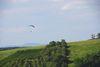 Der Lipberg ist auch Landeplatz für Gleitschirmflieger