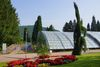 Römische Badruine mit der beeindruckenden Glasüberdachung