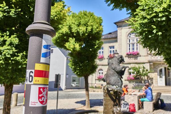 Bärnau liegt am Goldsteig-Alternativweg Nurtschweg
