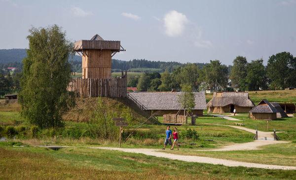 Ortsansicht Geschichtspark Bärnau-Tachov