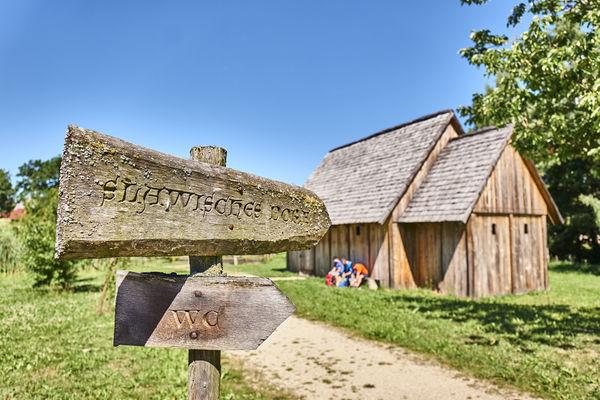 Geschichte zum Greifen bietet der einzigartige Geschichtspark Bärnau-Tachov im Oberpfälzer Wald.