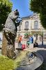 Der Stadtbrunnen in Bärnau