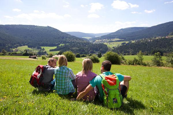 Weitläufige Aussichten im Baiersbronner Wanderhimmel