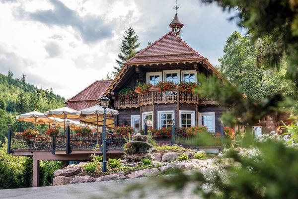 Außenansicht des Forellenhof in Baiersbronn-Buhlbach