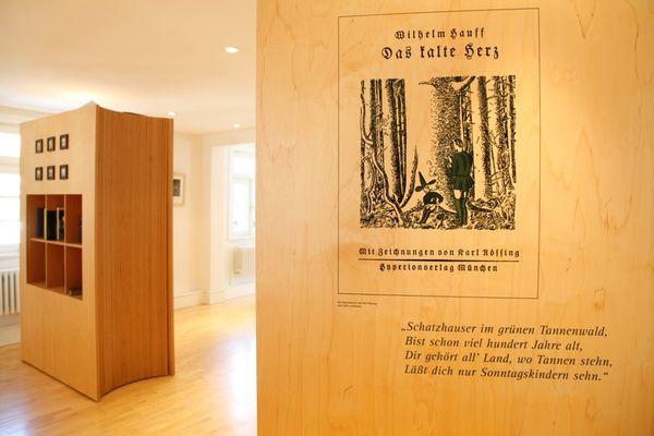 """Viel dreht sich im Märchenmuseum um """"Das kalte Herz""""."""