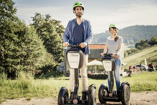 Segway fahren ist mit der Schwarzwald Plus Karte kostenlos.